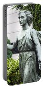Barzaghi Memorial Side View II Detail Monumental Cemetery Portable Battery Charger
