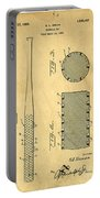 Baseball Bat Patent Portable Battery Charger