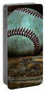Baseball Broken In Portable Battery Charger by Paul Ward