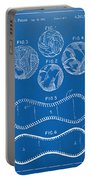 Baseball Construction Patent - Blueprint Portable Battery Charger by Nikki Marie Smith
