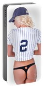 Baseball Girl 2 Portable Battery Charger
