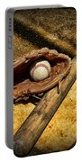 Baseball Home Plate Portable Battery Charger