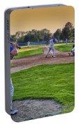 Baseball On Deck Circle Portable Battery Charger