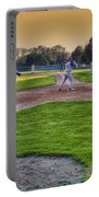 Baseball On Deck Circle Portable Battery Charger