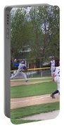 Baseball Pitcher The Delivery Portable Battery Charger