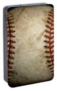 Baseball Seams Portable Battery Charger