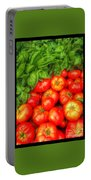 Basil Tomato Portable Battery Charger