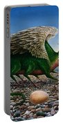 Basilisk, 1986 Oils And Tempera On Paper Portable Battery Charger