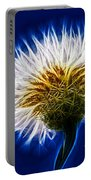 Basket Flower Inner Beauty Portable Battery Charger by Nikki Marie Smith