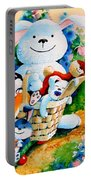 Basket Of Bunnies Portable Battery Charger