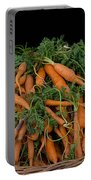 Basket Of Carrots Portable Battery Charger
