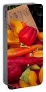 Basket Of Peppers Portable Battery Charger