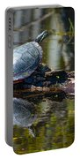 Basking Turtle Portable Battery Charger