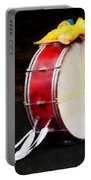 Bass Drum At Parade Portable Battery Charger