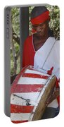 Bass Drummer Labadee Haiti Portable Battery Charger