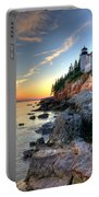 Bass Harbor Head Lighthouse Mount Desert Island Maine Portable Battery Charger