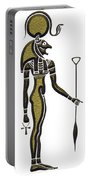 Bastet - Goddess Of Ancient Egypt Portable Battery Charger