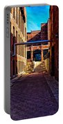 Bates Mill Lewiston Maine Portable Battery Charger by Bob Orsillo