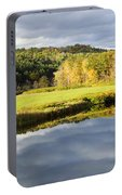 Bath Nh Autumn Panorama Portable Battery Charger