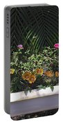 Bath Tub Flowers Portable Battery Charger