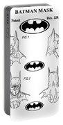 Batman Face Guard Portable Battery Charger