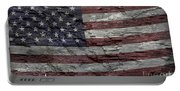 Battered Old Glory Portable Battery Charger