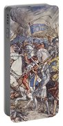 Battle Of Fornovo, Illustration Portable Battery Charger