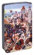 Battle Of Nevilles Cross 1346 Portable Battery Charger