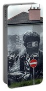 Battle Of The Bogside Mural IIi Portable Battery Charger