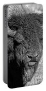 Battle Worn Bull Portable Battery Charger