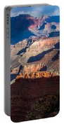 Battleship Rock At The Grand Canyon Portable Battery Charger