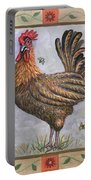 Baxter The Rooster Portable Battery Charger