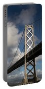 Bay Bridge After The Storm Portable Battery Charger