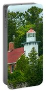 Bay Of Green Bay Lighthouse Portable Battery Charger
