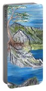 Bay View In Oregon Portable Battery Charger