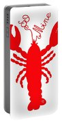 Be Mine Lobster With Feelers 20150207 Portable Battery Charger