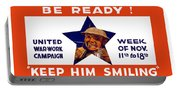 Be Ready - Keep Him Smiling Portable Battery Charger