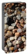Beach Agates Portable Battery Charger by Carol Groenen