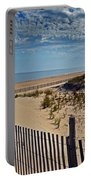 Beach At Cape Henlopen Portable Battery Charger