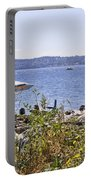 Beach At Maury Island Portable Battery Charger