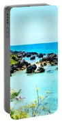 Beach At St. George Bermuda Portable Battery Charger