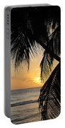 Beach At Sunset 1 Portable Battery Charger