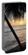 Beach At Sunset 4 Portable Battery Charger