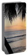 Beach At Sunset 5 Portable Battery Charger