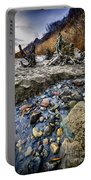 Beach Brook At Scarborough Bluffs Portable Battery Charger
