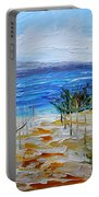 Beach Dunes Summer's End Portable Battery Charger