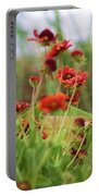 Beach Flowers Portable Battery Charger