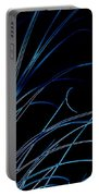 Beach Grass Abstract Portable Battery Charger