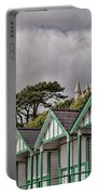 Beach Huts Langland Bay Swansea 3 Portable Battery Charger