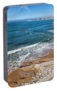 Beach In Resort Town Of Estoril Portable Battery Charger